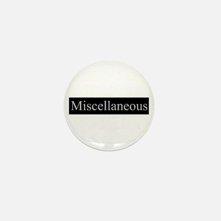 Miscellaneous Mini Button