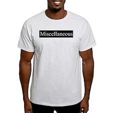Miscellaneous Ash Grey T-Shirt