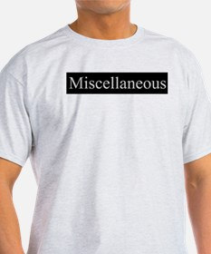 Miscellaneous Ash Grey T-Shirt