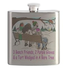 3BF tiles Flask