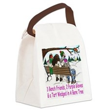3BF tiles Canvas Lunch Bag