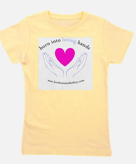 LCM_loving_hands Girl's Tee