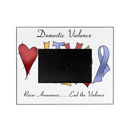 2 domestic violence Picture Frame
