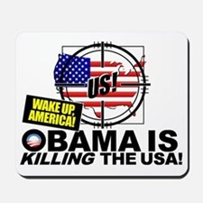 Current-Events-Wake-UP-America-Impeach-O Mousepad