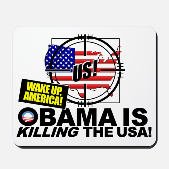 Current-Events-Wake-UP-America-Impeach-O Mousepad