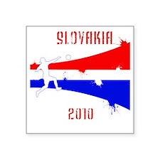 "Slovakia copy Square Sticker 3"" x 3"""