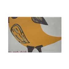 2-sassy arab chick cropped Rectangle Magnet