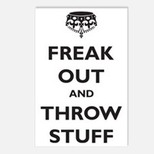 freak-out Postcards (Package of 8)