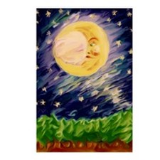 Night Moon Postcards (Package of 8)