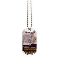 WWI REcruiting USA ENgineers Dog Tags
