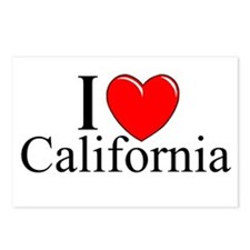 """""""I Love California"""" Postcards (Package of 8)"""