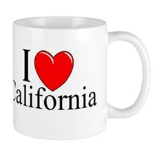 """I Love California"" Mug"