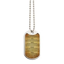 The 5 Rules of Good Writing! Dog Tags