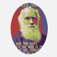 darwin-CRD Oval Ornament