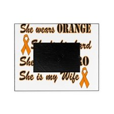 She is Wife Orange Hero Picture Frame