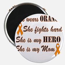 She is Mom Orange Hero Magnet