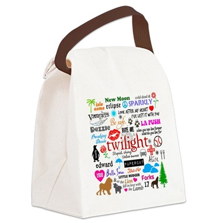 Twilight Mem S1 Canvas Lunch Bag