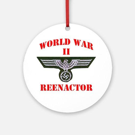 WWII german tshirt3 Round Ornament