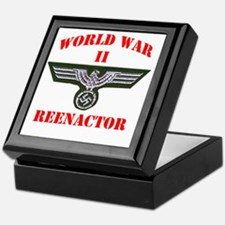 WWII german tshirt3 Keepsake Box