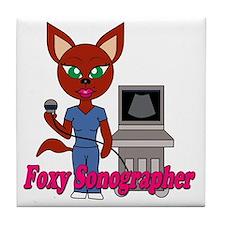 foxy Tile Coaster