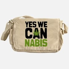 Cannabis Yes Messenger Bag
