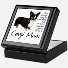 Corgi Mom Keepsake Box