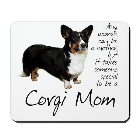 Corgi Mom Mousepad
