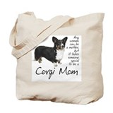 Dogs corgi Canvas Totes