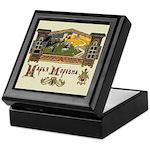 Russian Folk Art Keepsake Box