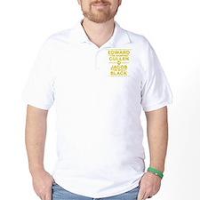 edward-vs-jacob_gold_ds5 T-Shirt