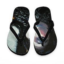 Aileen_White_Nike_BHS_name Flip Flops