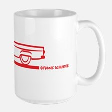 56TBird_Conv_red Large Mug