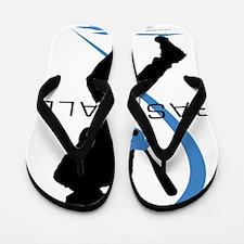 Baseball 43 Flip Flops