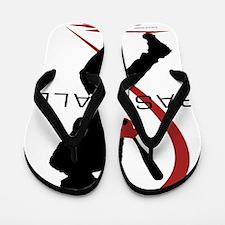 Baseball 44 Flip Flops