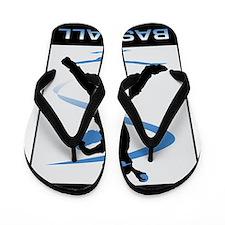 Baseball 24 Flip Flops