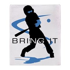 Baseball 28 Throw Blanket