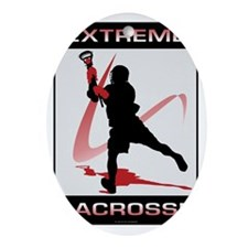 Lacrosse 44 Oval Ornament