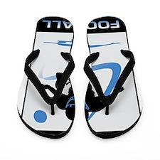 Football 12 Flip Flops