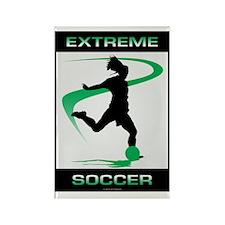 Soccer 36 Rectangle Magnet