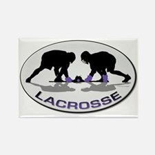 Lacrosse 33 Rectangle Magnet