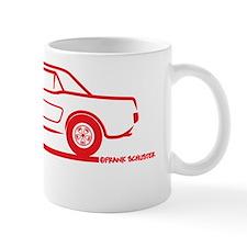 65 Mustang_HT_Red Small Mug