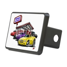 SSR Gas Station Scene Hitch Cover