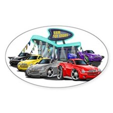SSR Car Dealer Scene Decal