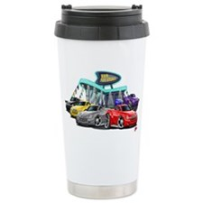 SSR Car Dealer Scene Thermos Mug