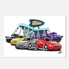 SSR Car Dealer Scene Postcards (Package of 8)
