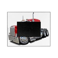 Kenworth w900 Red Truck Picture Frame
