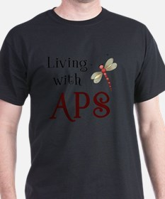 Living with APS - Dragonfly T-Shirt