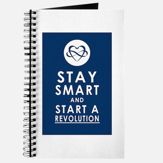 LOVE REVOLUTION Deep Blue Journal