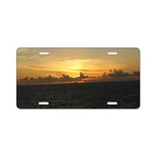 Fire in the Sky_base Aluminum License Plate