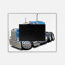 Kenworth w900 Lt Blue Truck Picture Frame